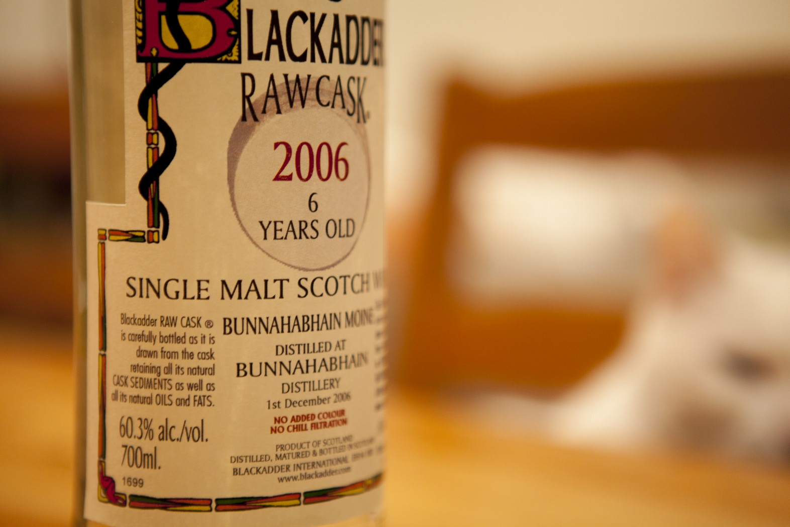 Blackadder Bunnahabhain Moine 6yr Raw Cask Whisky Review