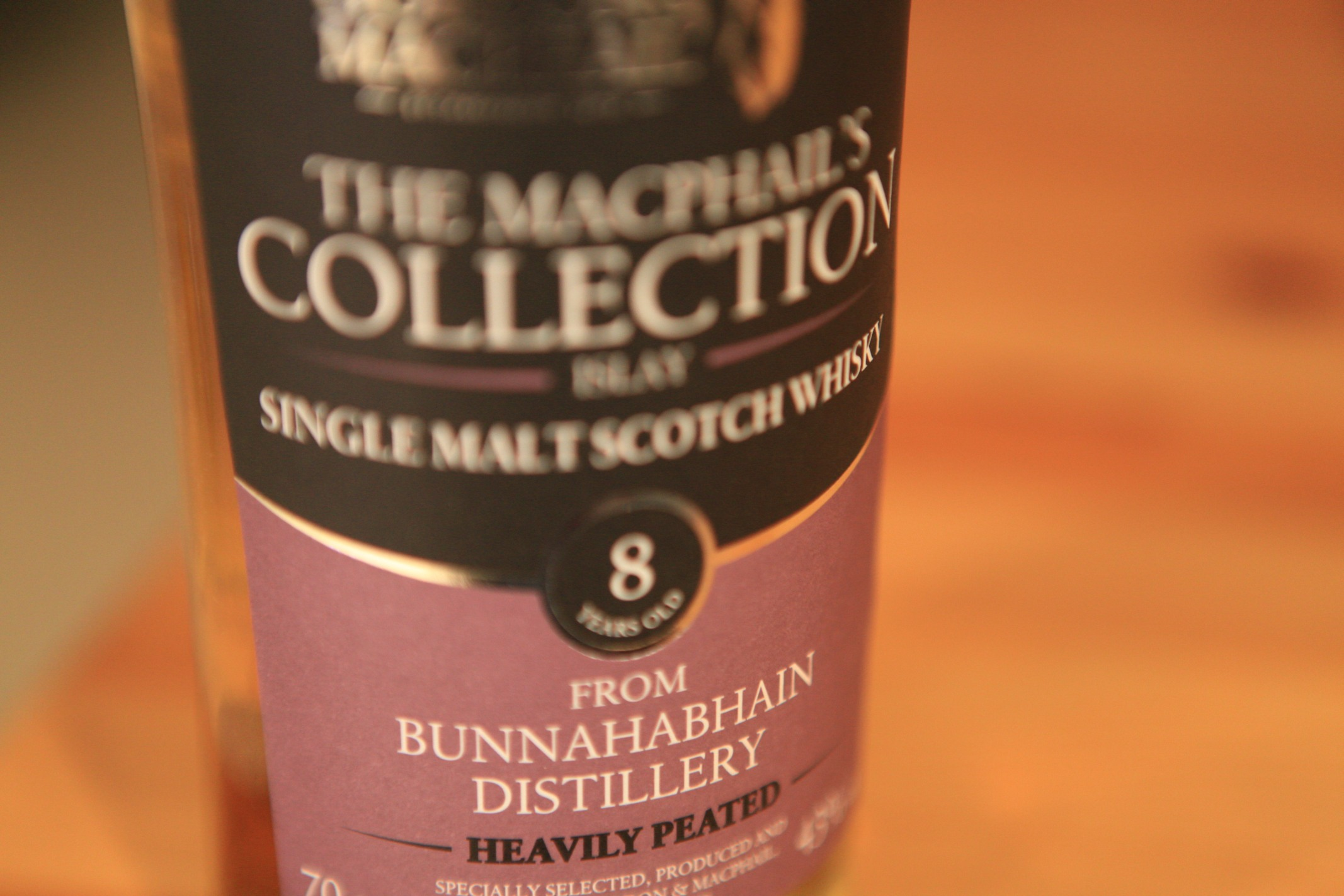 Gordon & MacPhail Bunnahabhain 8yr Heavily Peated Whisky Review