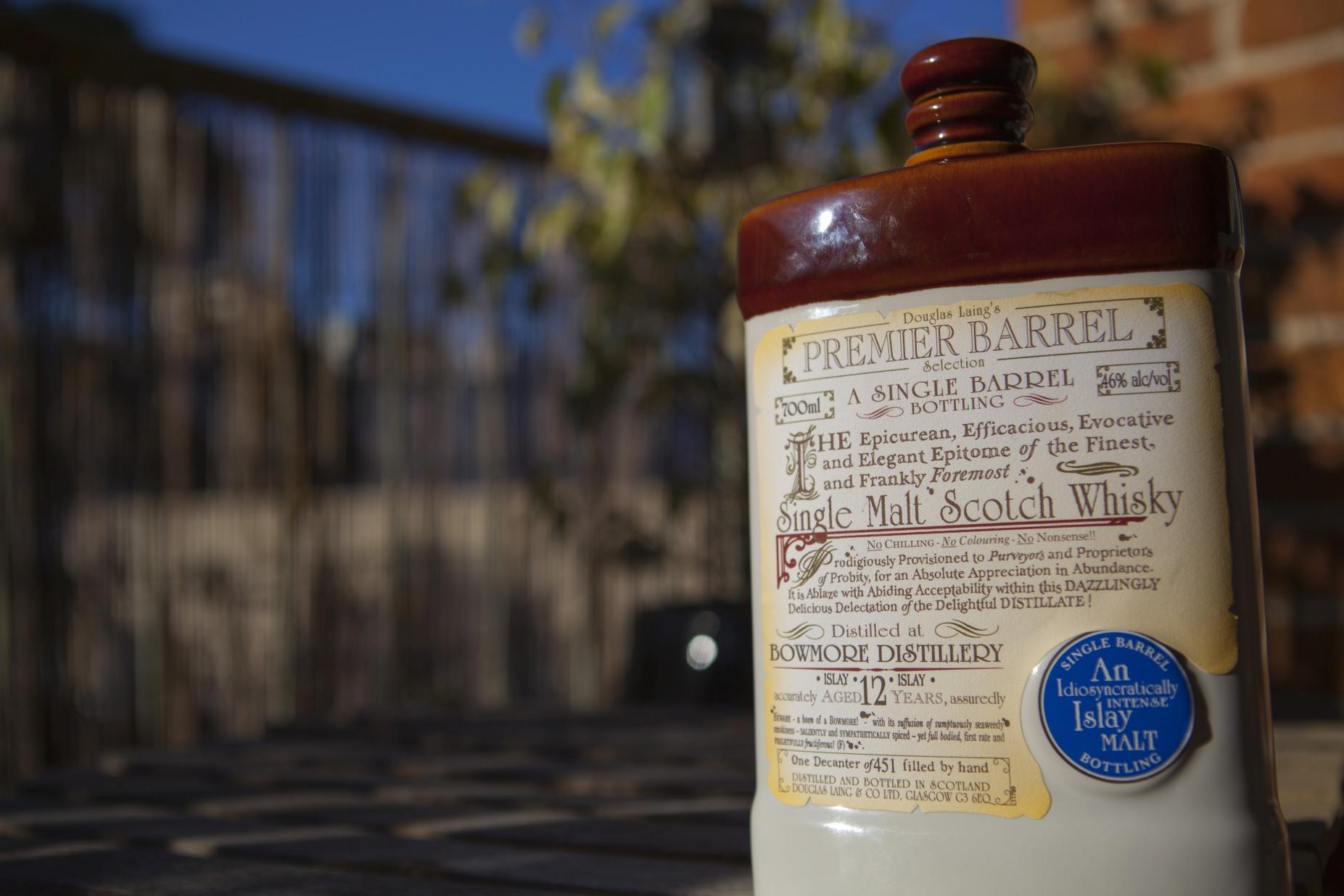Douglas Laing Bowmore 12yr Premier Barrel Whisky Review
