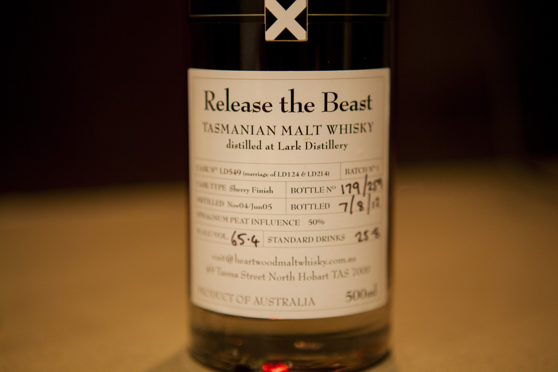 Heartwood Release the Beast Whisky Review
