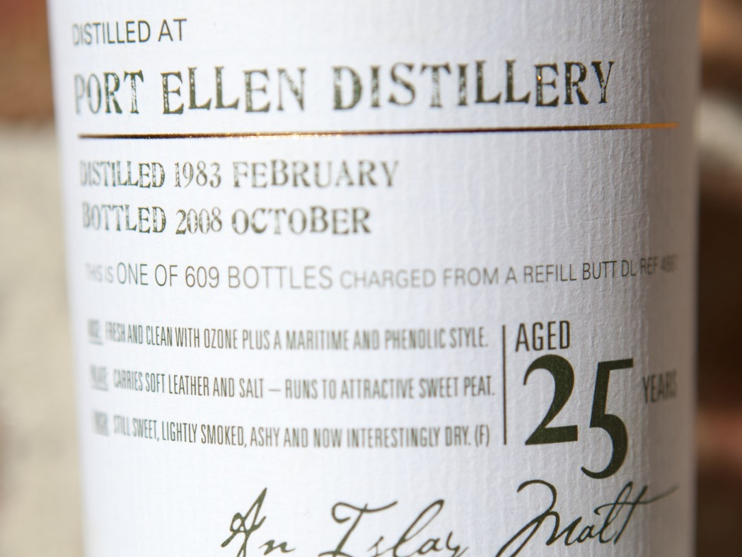 Douglas Laing Port Ellen 25yr 1983 Old Malt Cask Whisky Review