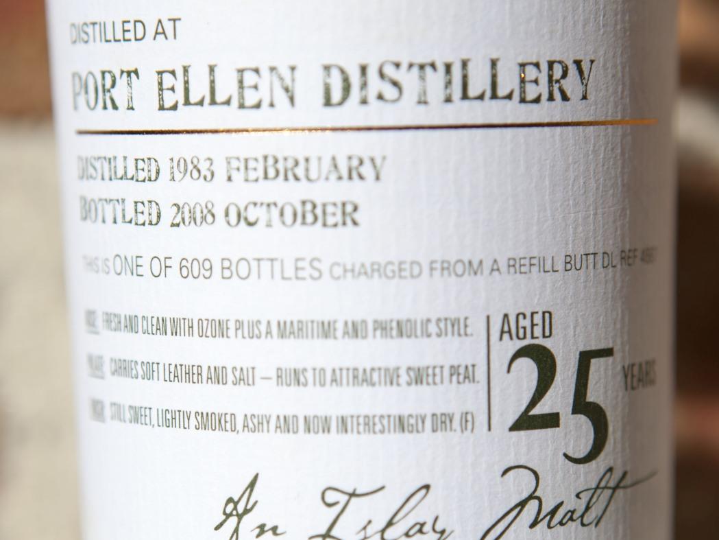 Douglas Laing Port Ellen 25yr 1983 Old Malt Cask Whisky Review