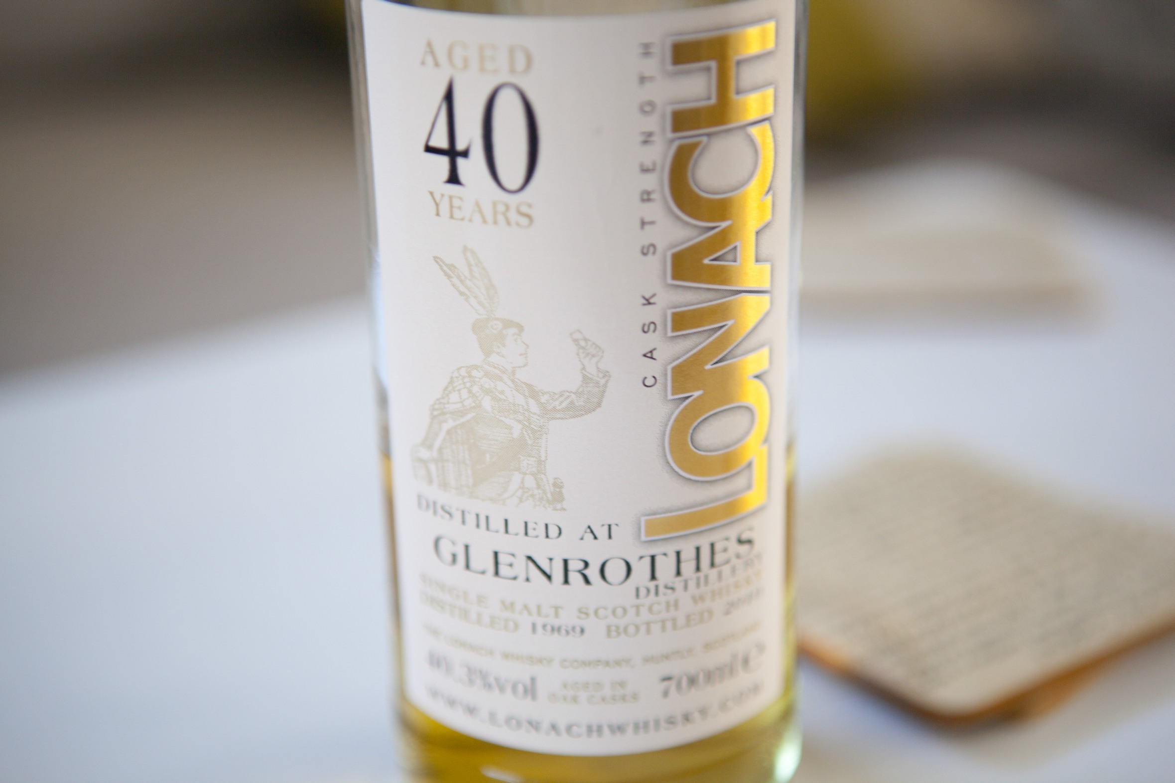 Duncan Taylor Glenrothes 40yr 1969 Lonach Whisky Review