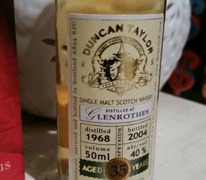 Duncan Taylor Glenrothes 35yr 1968 Whisky Review