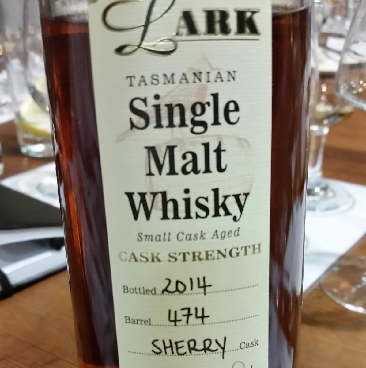 Lark Olorosso Sherry Release 2014