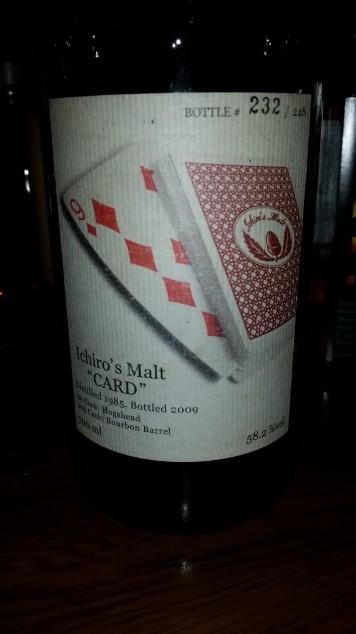 Ichiro's Malt Card 9 of Aces